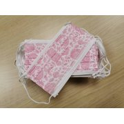 Medical Flower Pink Face Masks 60 piece...