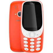 Nokia 3310 2017 Dual Sim Sarkans / Warm Red
