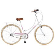 Grunberg Holland 3 speed 700Cx35C, white/pink 28""""