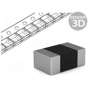 ROYAL OHM Resistor: thick film; SMD; 0805; 187Ω; 0