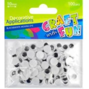 Craft With Fun Decorative Applications 100pcs 290497 (5901350207734)  0.76