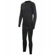 Viking Base Layer Set Cross, Grey/Blue | Bērnu Ter