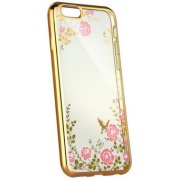 Blun Diamond Back Case For Xiaomi Mi 8 Gold (BL-DI