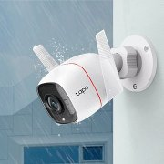 <b>TP-LINK</b> OUTDOOR SECURITY WI-FI CAMERA . IN