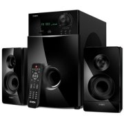 Datoru skaļrunis Speakers SVEN MS-2100, black (80W, FM, USB/SD, Display, RC), SV-012236 MS-2100