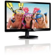 Philips V Line LCD monitor with LED backlight 200V