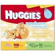 Huggies Little Snugglers - 108 pieces, Size N - Ne
