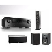Denon AVR-X250BT + Polk Audio T-series 5.0 Set (T5