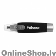 TR-2587 TRISTAR Nose and ear trimmer Nose and ear trimmer, AA (not included), Black, Silver  4.70