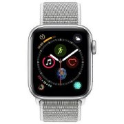 Apple Watch Series 4 GPS, 40mm Silver A...