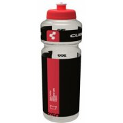 Cube Bottle Transparent Red Black 0.75l (426012581