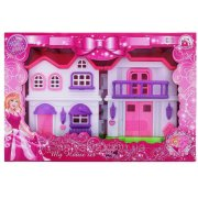 Pink Villa with light music BS866-2A BS866-2A