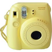 Fujifilm Instax Mini 8 Yellow (INSTAXMINI8YELLOW10SH; 16273180; FUJI INSTAX YELLOW 8 +10; FujiFilm Instax mini 8 yellow)  59.99