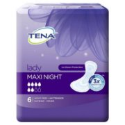 srcz2990 TENA Lady Maxi Night paketes, N6  3.59