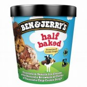 "Ben&Jerry""s Half backed saldējums 465ml"