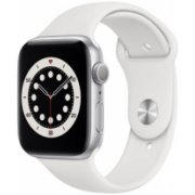 Apple Watch Series 6 44mm Silver Alu White Sport (