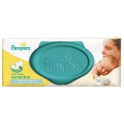 Pampers New Baby Sensitive Wipes 54pcs (4015400686