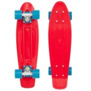 Spokey Cruiser Penny Board Art.838898 Red Bērnu skrituļdēlis 46483