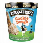 "Ben&Jerry""s Cookie Dough saldējums 465ml"