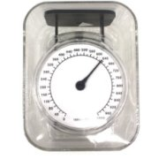 Analog mini kitchen scale Transparent (1000g)