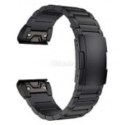 Priekš GARMIN Fenix 5x 6x Metal Band 26mm