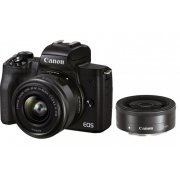 Canon EOS M50 Mark II 15-45 IS STM + 22...