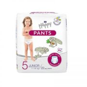Bella Happy Pants Junior biksītes 5 izm. (11-18kg) 22gab
