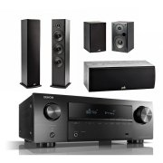 DENON AVR-S650H / POLK AUDIO T50 / T15 / T30 Black