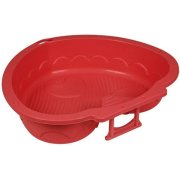PalPlay Sand/Water Pit Heart Shape Red 300-434 (T-MLX10831)  11.00