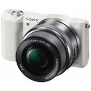 Sony A5100 Wi-Fi NFC White + 16-50 mm Lens