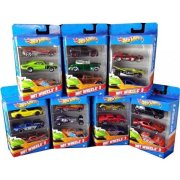 K5904 MATTEL HOT WHEELS BASIC CAR 3-PACK