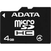 A-Data MICRO SDHC CARD 4GB CLASS 4 (AUSDH4GCL4-R)