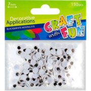 Craft With Fun Decorative Applications 150pcs 290493 (5901350207703)  0.90
