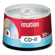 Imation CD-R Spindle 52X/700MB/80Min, 61412