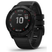 Garmin Fenix 6X PRO Slate Gray with Black Band wit