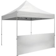 Nojumes siena POP UP 3x0.7 m, Balta