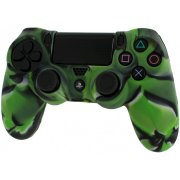 Pro Soft PS4 Silicone Protective Cover with Ribbed Handle Grip (Camo Green)  14.99