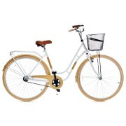 "Grunberg Holland single speed, white/beige 28"""" CP"