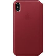 APPLE iPhone XS Max Leather Folio - (PRODUCT)RED,