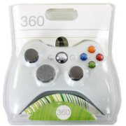 XBOX 360 WIRED CONTROLLER WHITE / KONTROLIERIS AR