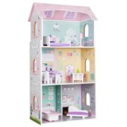 EcoToys Wooden Doll House Residence Of ...