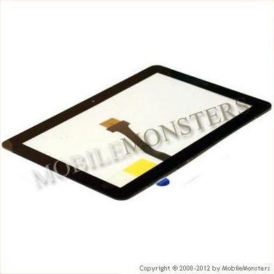 Skārienjūtīgais ekrāns Samsung P7500 Galaxy Tab 10.1 Melns   P7510